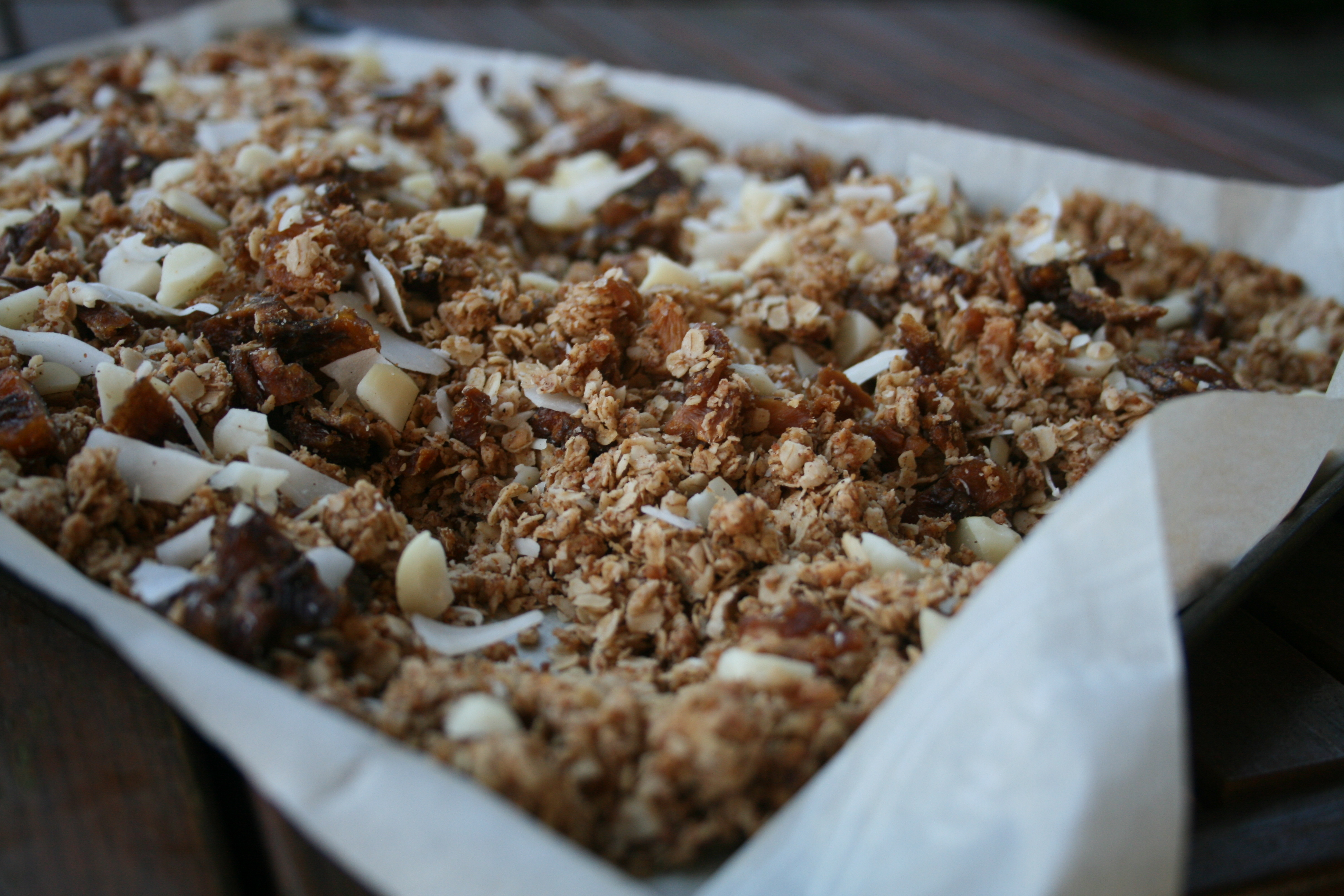 Tropical Granola Parfait - Love from the Land
