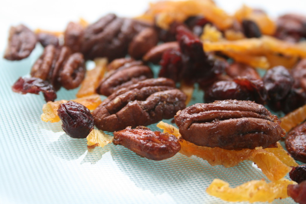 Orange Cranberry Spiced Nuts