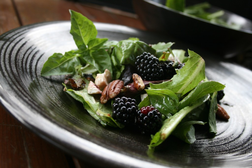 Blackberry Basil Salad
