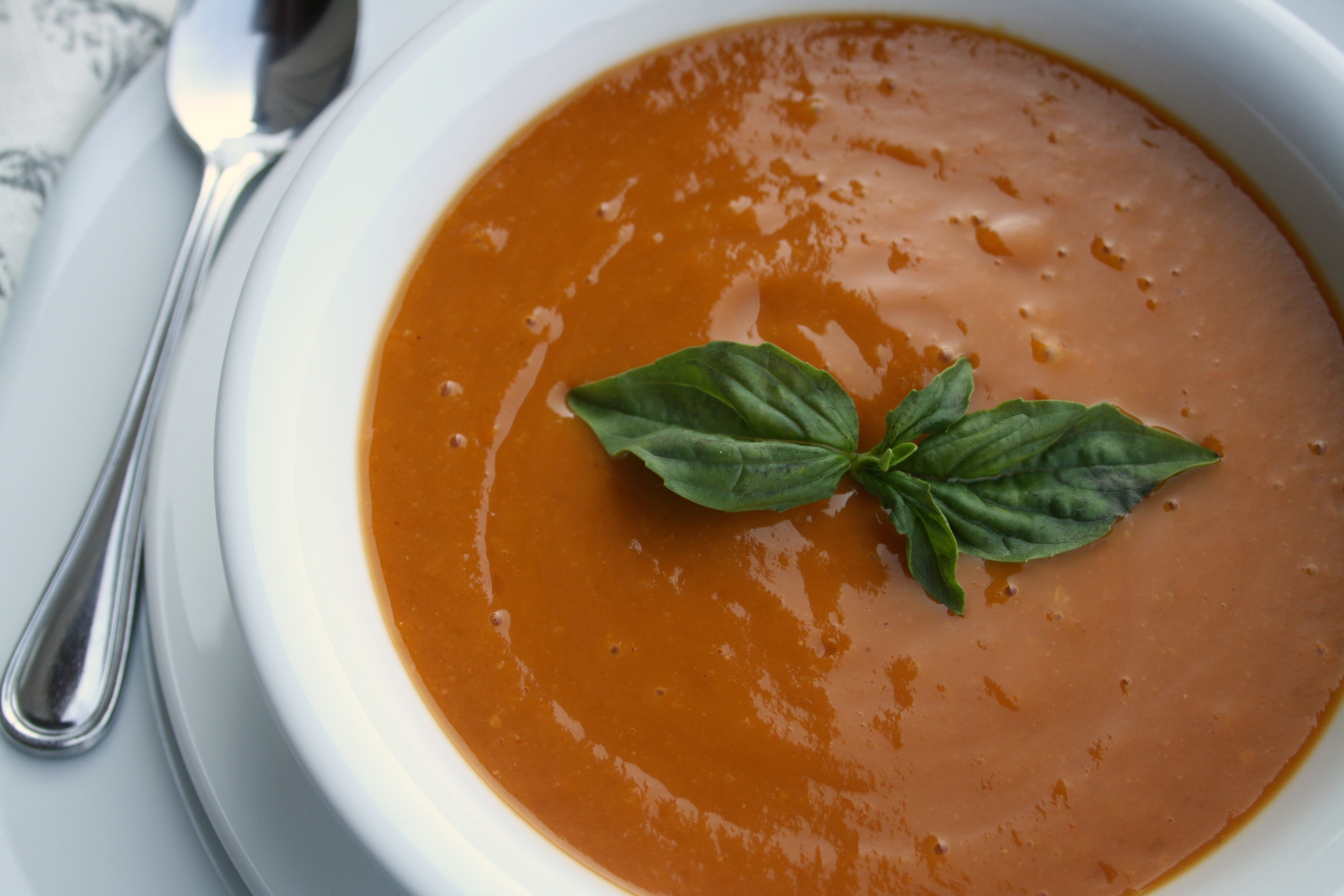 Tomato Chipotle Soup - Love from the Land