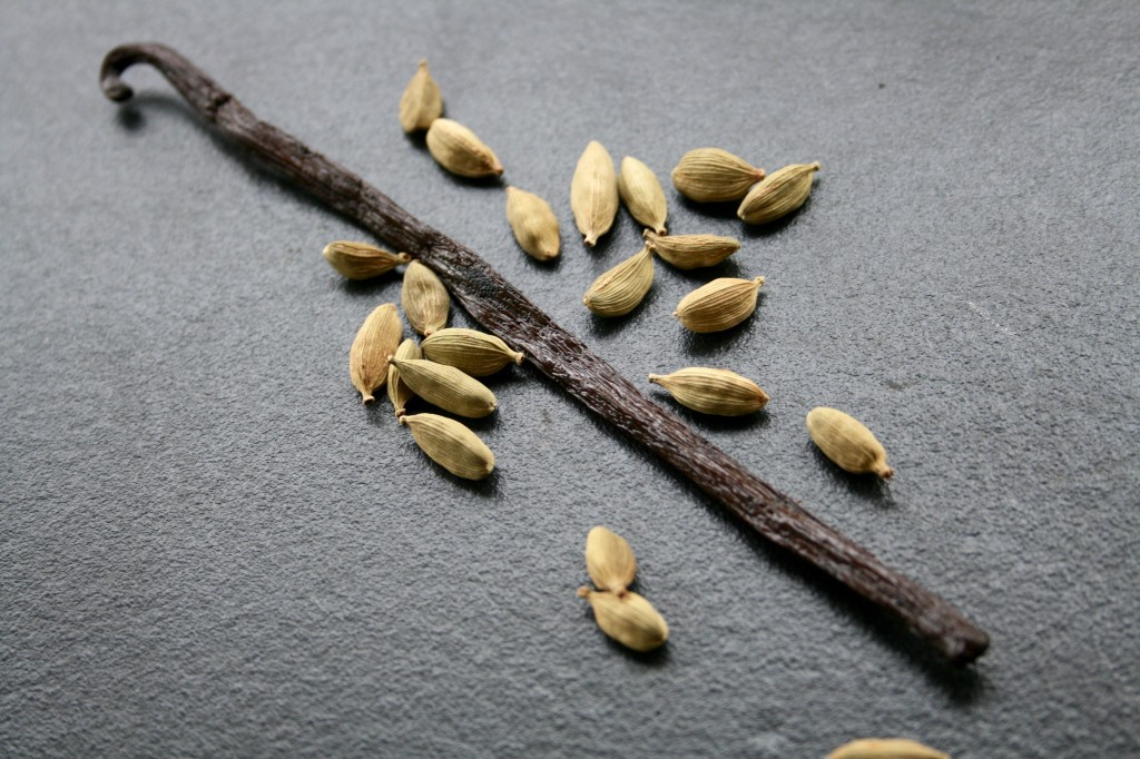 vanilla and cardamom
