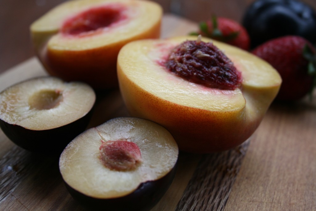 Vanilla Cardamom Roasted Fruit Salad