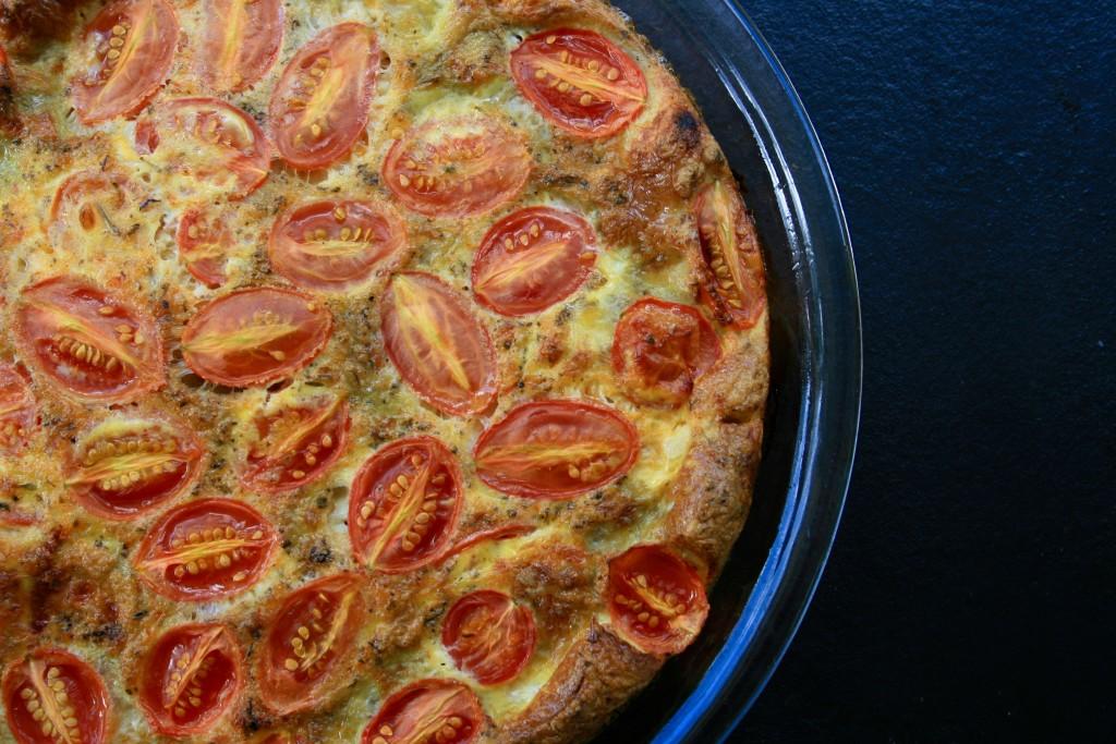 Tomato Artichoke Frittata
