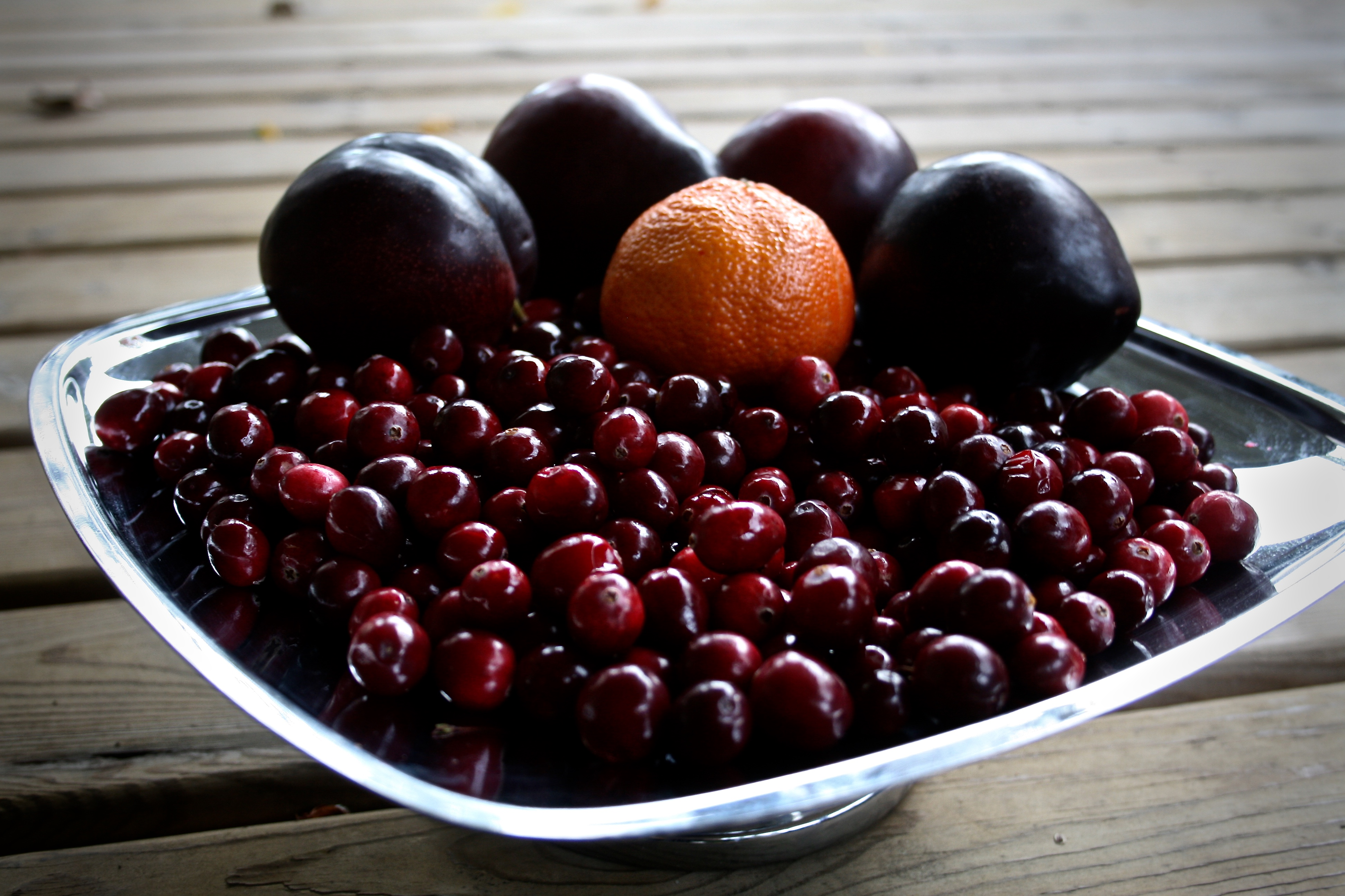 cranberry plum sauce love from the land