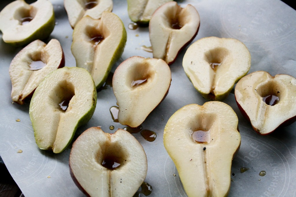 Vanilla Maple Roasted Pears - Love from the Land