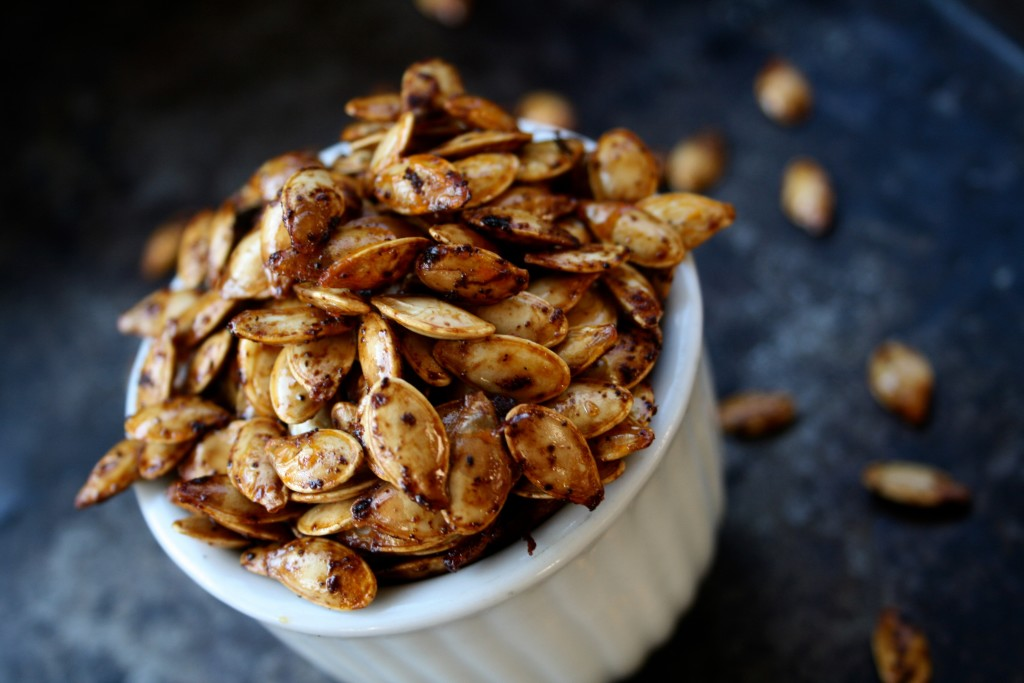 Roasted Chipotle Pumpkin Seeds