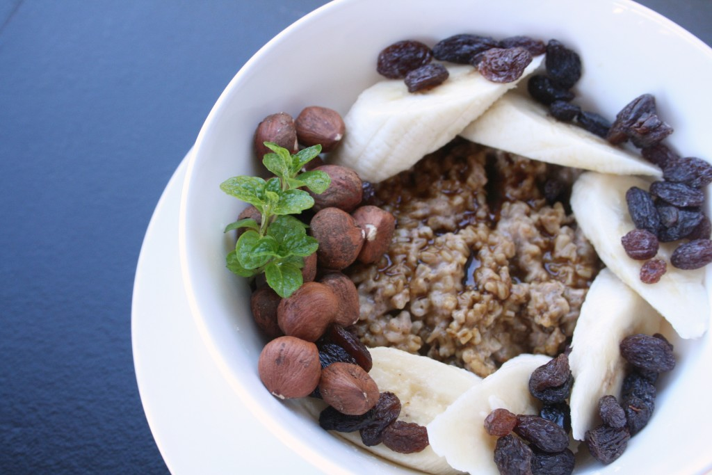 Gingerbread Steel Cut Oats