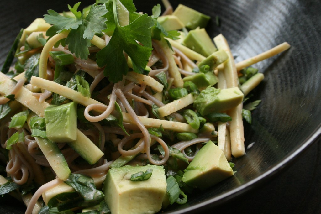Spicy Soba Salad