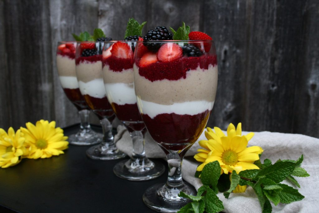 Berry Chia Pudding Parfaits