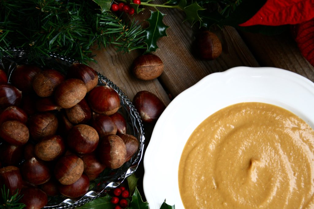 Butternut Squash and Chestnut Soup